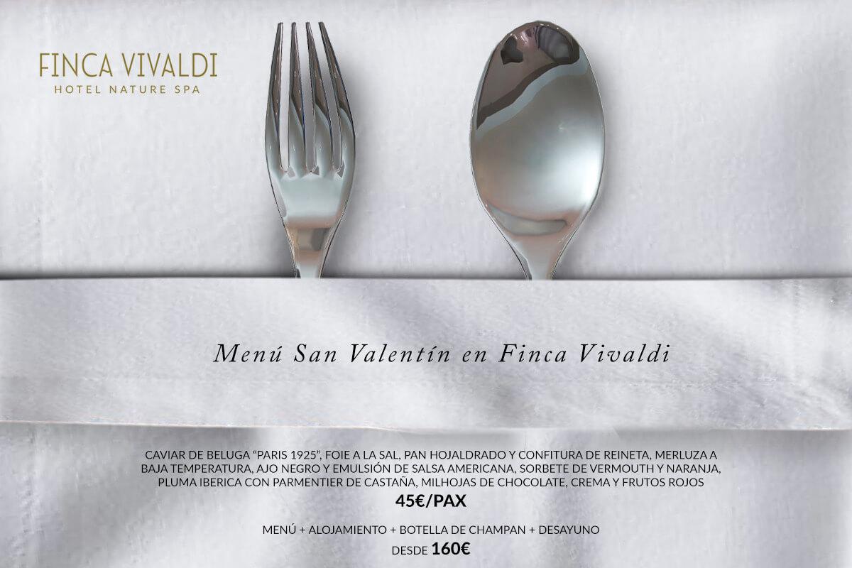 CENA DE SAN VALENTÍN - FINCA VIVALDI